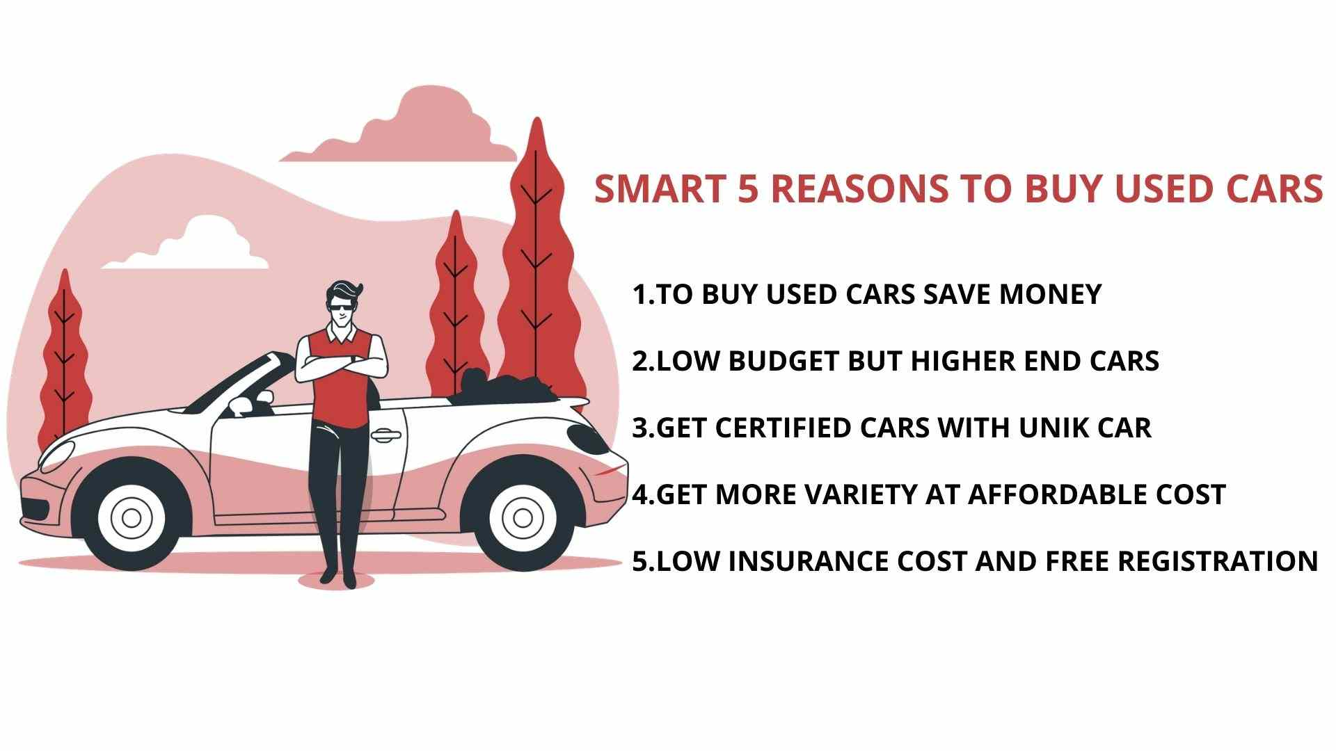 Reasons to buy used cars