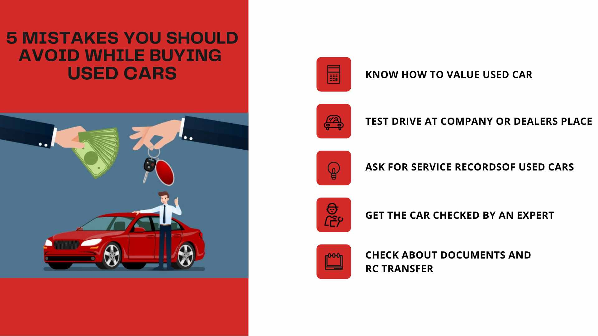 5 Mistakes You Should Avoid While Buying Used Cars