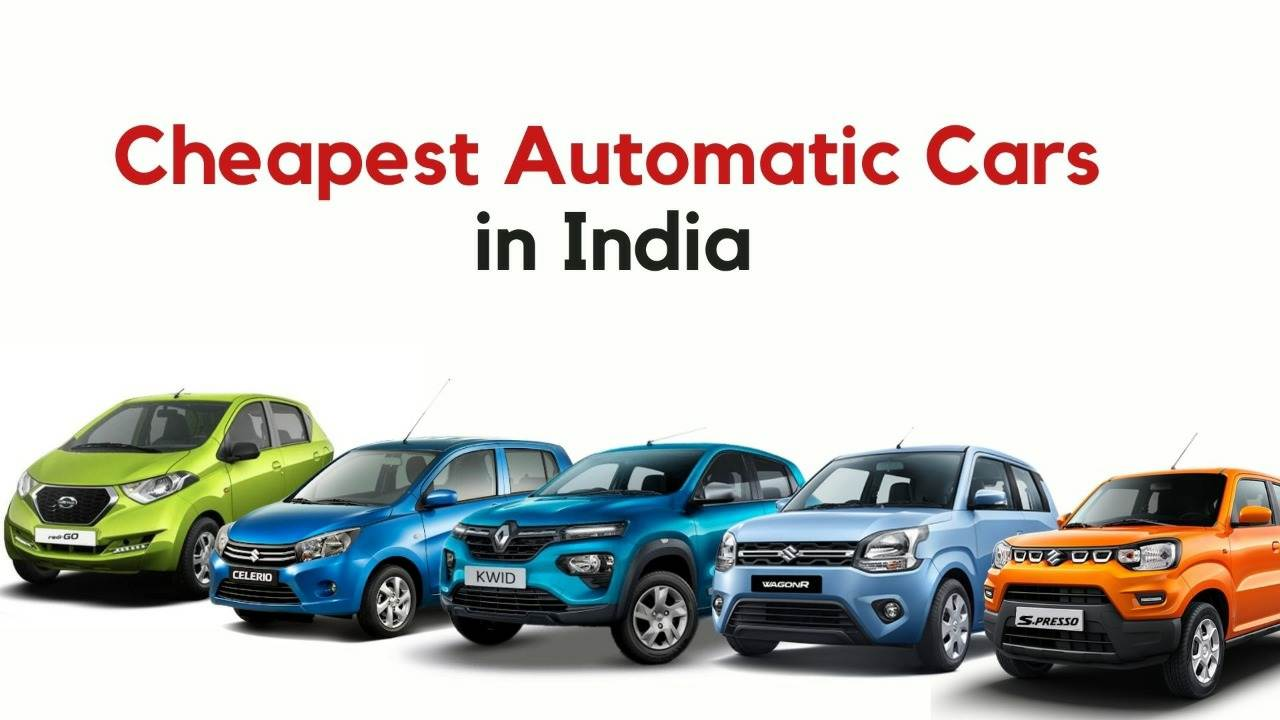 cheapest automatic cars in India